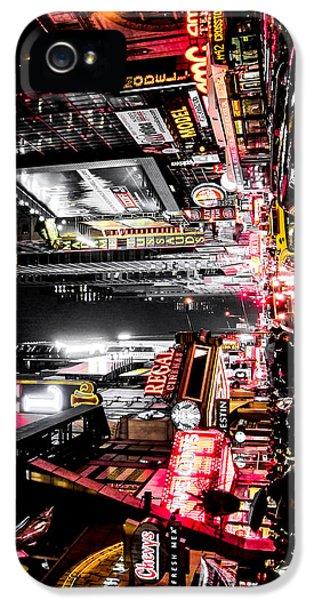 New York City Night II IPhone 5 Case by Nicklas Gustafsson
