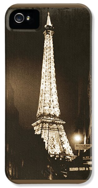 Postcard From Paris- Art By Linda Woods IPhone 5 Case