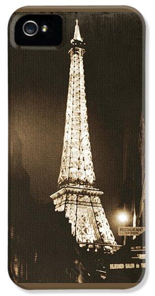 Postcard From Paris- Art By Linda Woods IPhone 5 Case by Linda Woods