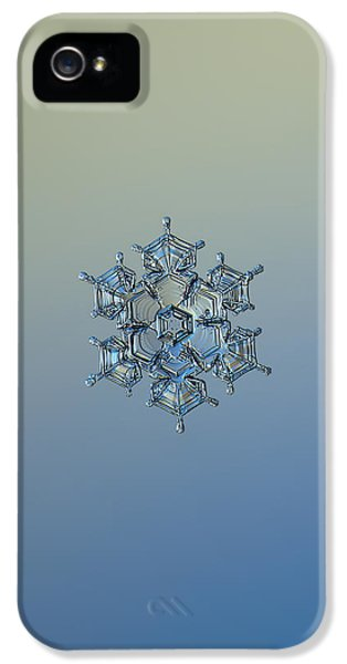 Snowflake Photo - Flying Castle Alternate IPhone 5 Case