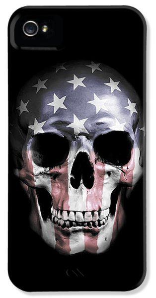 American Skull IPhone 5 / 5s Case by Nicklas Gustafsson