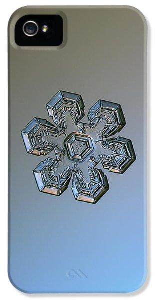 Snowflake Photo - Massive Silver IPhone 5 Case