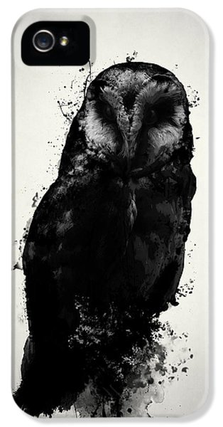 Owl iPhone 5 Case - The Owl by Nicklas Gustafsson