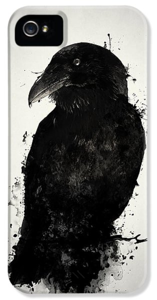 The Raven IPhone 5 Case by Nicklas Gustafsson