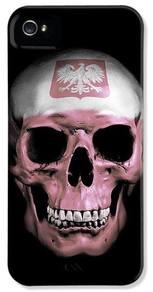 Polish Skull IPhone 5 Case