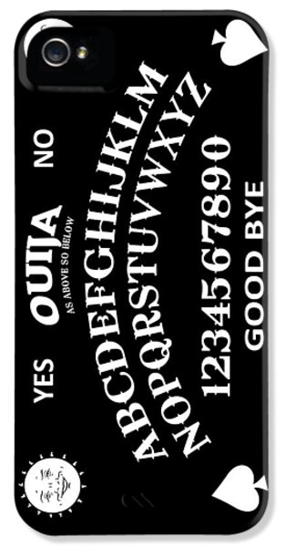 Ouija IPhone 5 Case by Nicklas Gustafsson