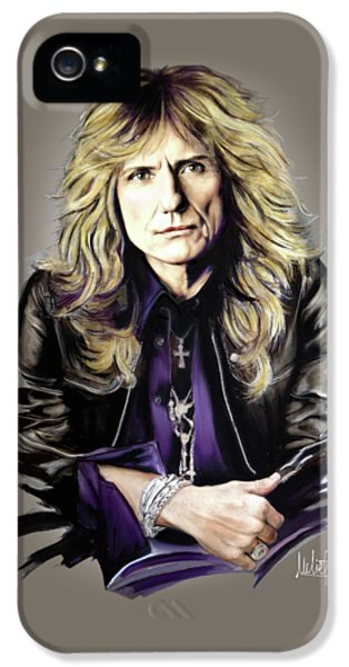 David Coverdale IPhone 5 / 5s Case by Melanie D
