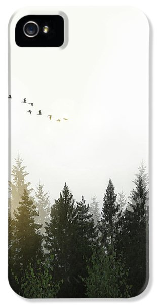Forest IPhone 5 Case by Nicklas Gustafsson