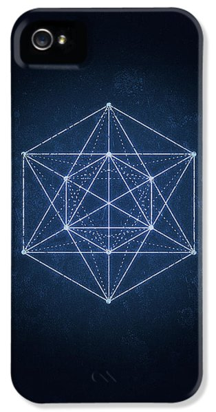 Sacred Geometry  Minimal Hipster Symbol Art IPhone 5 Case by Philipp Rietz