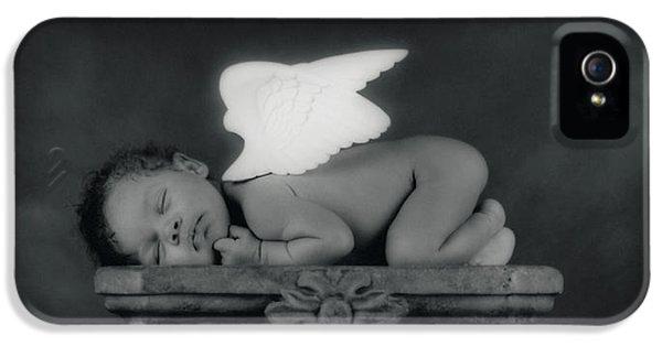 Varjanare As An Angel IPhone 5 Case by Anne Geddes