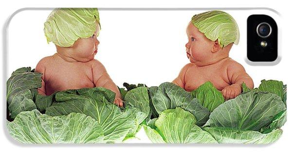 Cabbage Kids IPhone 5 Case by Anne Geddes