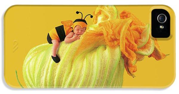 Baby Bee IPhone 5 Case by Anne Geddes