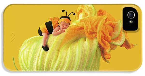 Baby Bee IPhone 5 Case by Anne Geddes
