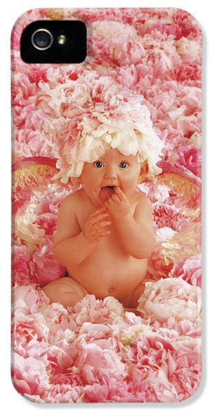 Peony Angel IPhone 5 Case by Anne Geddes
