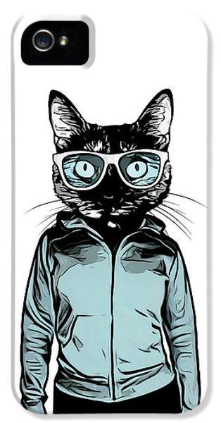 Cool Cat IPhone 5 Case