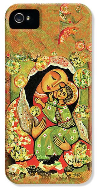 Madonna And Child IPhone 5 Case by Eva Campbell