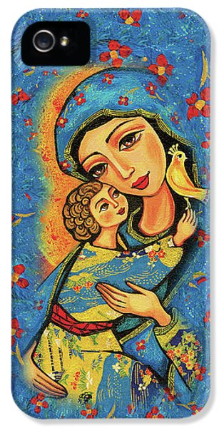 Mother Temple IPhone 5 Case by Eva Campbell