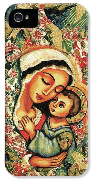 The Blessed Mother IPhone 5 Case