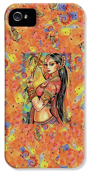 IPhone 5 Case featuring the painting Magic Of Dance by Eva Campbell