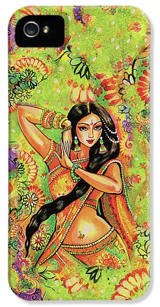 Dancing Nithya IPhone 5 Case by Eva Campbell