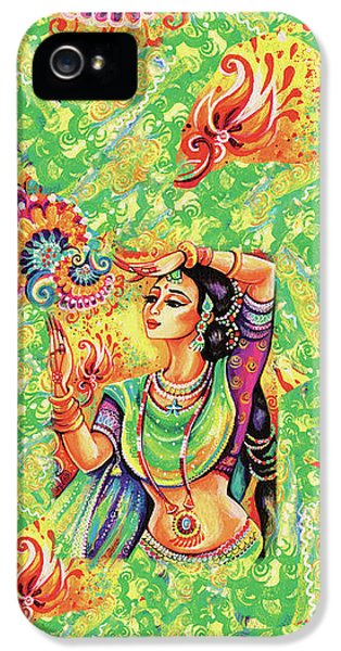 The Dance Of Tara IPhone 5 Case by Eva Campbell