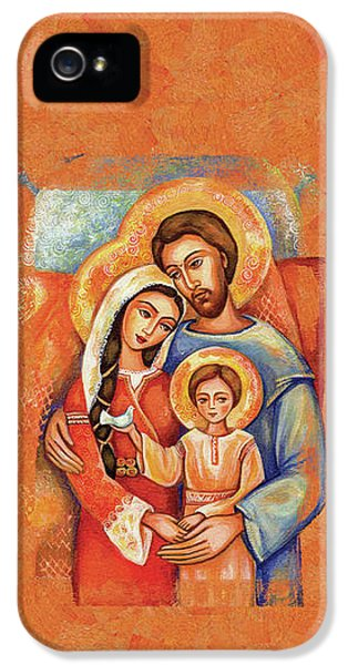 The Holy Family IPhone 5 Case by Eva Campbell