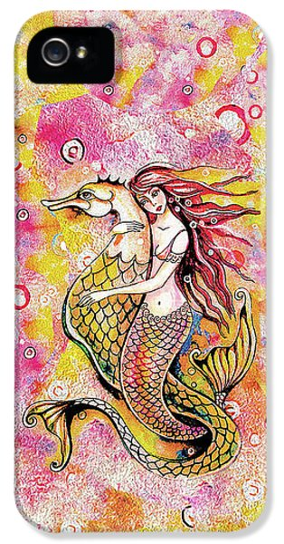Black Sea Mermaid IPhone 5 Case