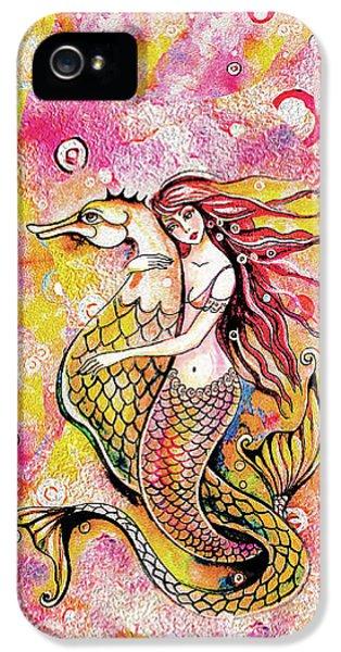 Black Sea Mermaid IPhone 5 Case
