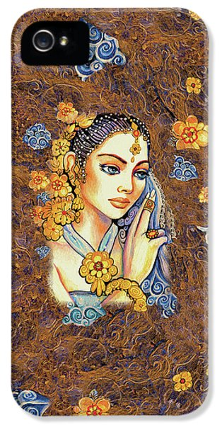 IPhone 5 Case featuring the painting Amari by Eva Campbell