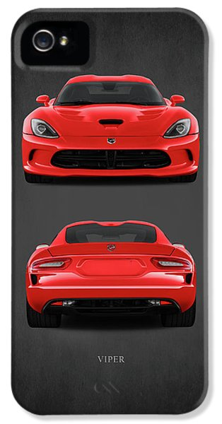 Viper IPhone 5 Case by Mark Rogan