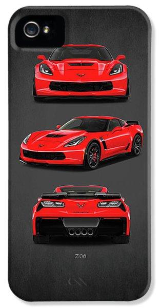 The Corvette Z06 IPhone 5 Case