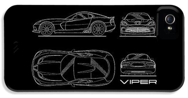 Viper Blueprint IPhone 5 Case