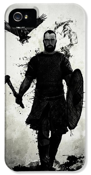 Crow iPhone 5 Case - To Valhalla by Nicklas Gustafsson