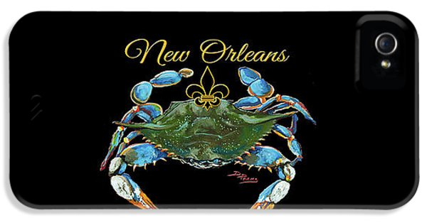 Louisiana Blue On Red IPhone 5 Case