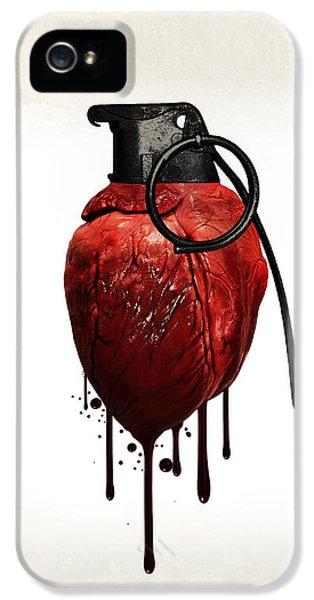 Heart Grenade IPhone 5 / 5s Case by Nicklas Gustafsson