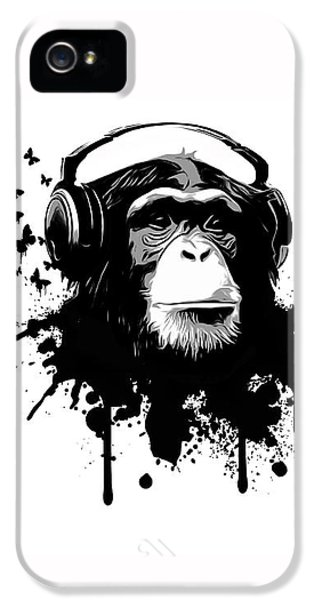 Animals iPhone 5 Case - Monkey Business by Nicklas Gustafsson
