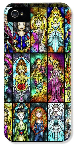 The Princesses IPhone 5 Case by Mandie Manzano
