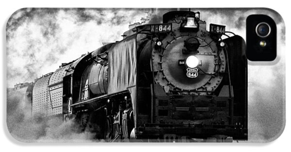 Nebraska iPhone 5 Case - Up 844 Steaming It Up by Bill Kesler