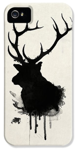 Animals iPhone 5 Case - Elk by Nicklas Gustafsson