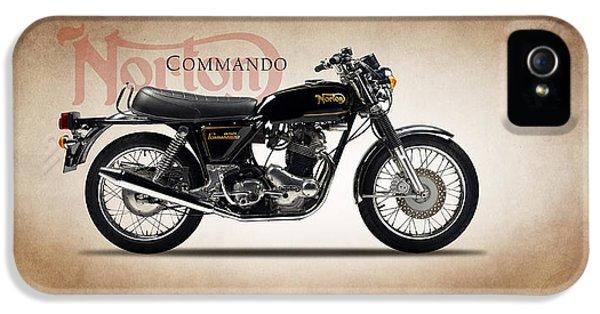 Norton Commando 1974 IPhone 5 Case by Mark Rogan