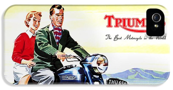 Triumph 1953 IPhone 5 Case by Mark Rogan