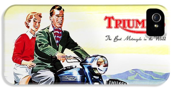 Triumph 1953 IPhone 5 Case by Mark Rogan