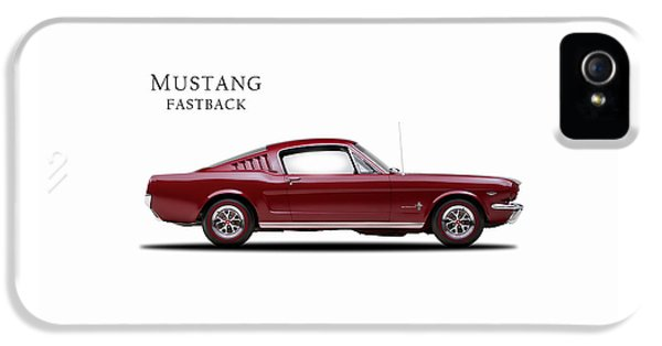 Ford Mustang Fastback 1965 IPhone 5 Case