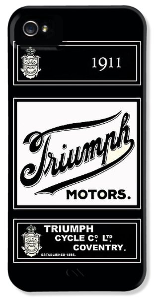 Triumph 1911 IPhone 5 / 5s Case by Mark Rogan