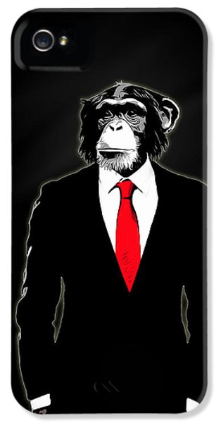 Domesticated Monkey IPhone 5 Case