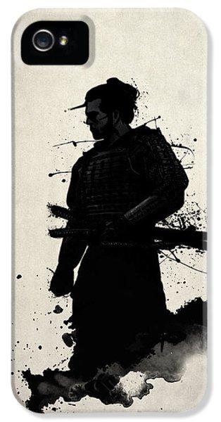 Samurai IPhone 5 Case by Nicklas Gustafsson
