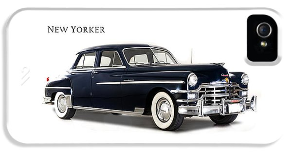 Chrysler New Yorker 1949 IPhone 5 Case by Mark Rogan