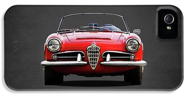Alfa Romeo Spider IPhone 5 Case by Mark Rogan