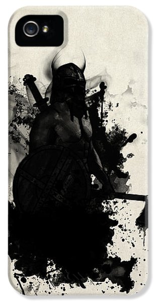 Smoke iPhone 5 Cases - Viking iPhone 5 Case by Nicklas Gustafsson