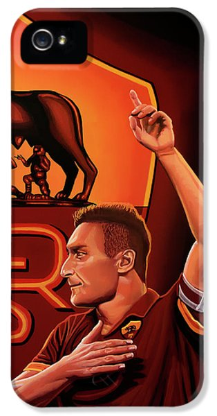 As Roma Painting IPhone 5 Case by Paul Meijering